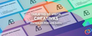 Tarjetas de visita creativas, ¡éntrales por los ojos!